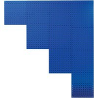 Image for Perforated Tool Panel 990mm Blue 380949