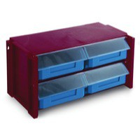 Image for Classifiers Stackable Clear Drawer Unit 382596
