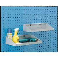 Image for Perfo System Grey Tool 450X170mm Shelf