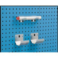 Image for Grey Bracket Pipe 100x36mm Pk2