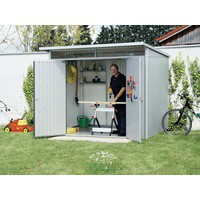 Image for Metallic Silver Garden Shed Floor Frame