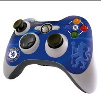 Image for Chelsea FC Xbox 360 Controller Skin Blue