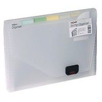 Image for Snopake Clear 6 Part Expanding Organiser