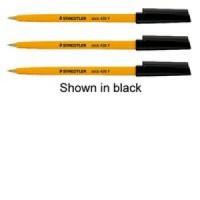 Image for Staedtler Stick Ballpoint Pen Fine Red 430-F2