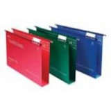 Rexel Crystalfile Classic Suspension File Manilla 50mm Foolscap Red Ref 71752 [Pack 50]