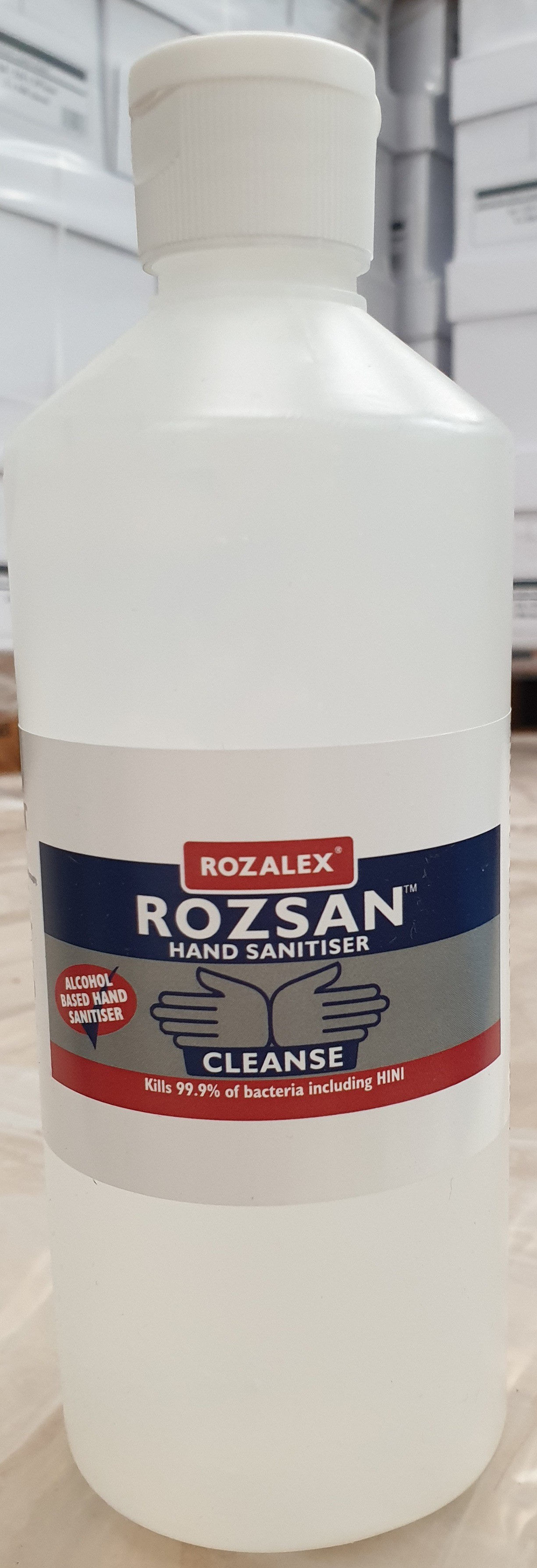 ROZALEX 500ml ROZSAN ALCOHOL BASED HAND SANITISER