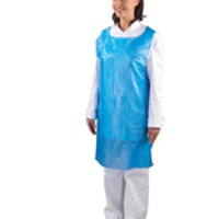 Shield Blue Disposable Aprons on a Roll (Pack of 100)