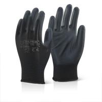 Image for PU Coated Glove Black Large