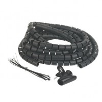 Image for Philex Cable Tidy Black 2 x 2m