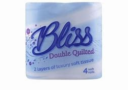Toilet Rolls Double Quilted 2ply Luxury Toilet Roll  Pack 40 (L5)