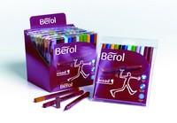 Berol Colourbroad Pen Black Water Based Ink CB01 S0375350
