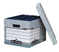 Fellowes R-Kive System Storage Box Grey 01810-FFLP