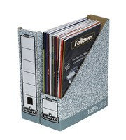 Fellowes R-Kive Magazine File Grey/White 01860