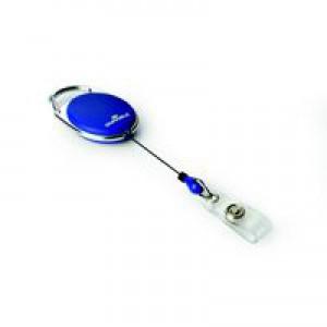 Durable Badge Reel Style Pack of 10 Dark Blue 8324/07