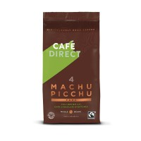Image for Cafe Direct Machu Pichu Peruvian Coffee Beans 227g Ref FCR1004 CDQ4