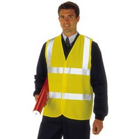 High Visibility 2-Band Waistcoat Yellow XXLarge (WGYC)