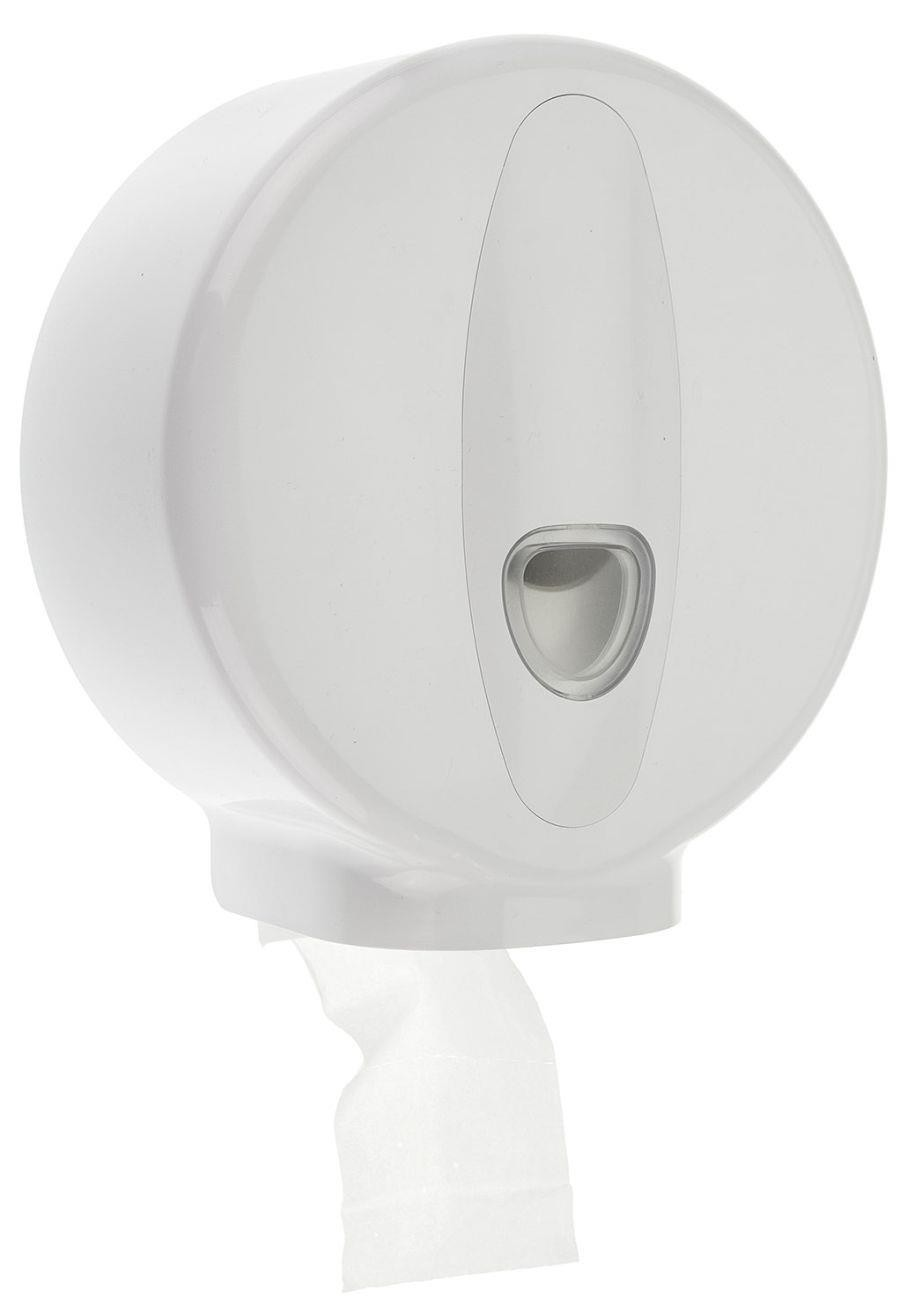 Value Mini Jumbo Toilet Roll Dispenser (H:275mm W:260mm D:115mm)