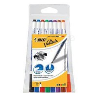 Image for  Bic 4-Colour Ball Pen Blue Black Red Green Ref 802077/801867 [Pack 12] [FREE Markers] Apr-Jun 2018