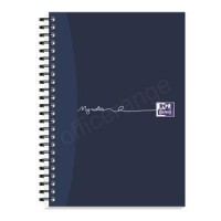 Image for  Oxford MyNotes Notebook Wirebound Feint & Margin 90gsm A5 Ref 100082372 [Pack 3] [2 For 1] May 2018
