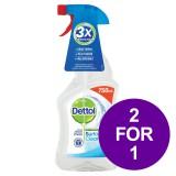 Dettol Surface Cleanser Spray 750ml Ref 14781 [2 For 1] Apr-Jun 2019
