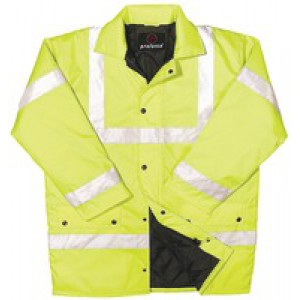 Proforce Class 3 EN471 Site Jacket X/Large Yellow HJ03YLXL