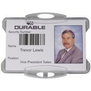 Durable Dual Security Pass Holder without Clip Pack of 50 999108000
