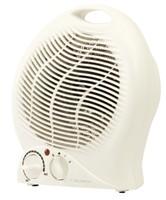 HI Distribution 2Kw Upright Fan Heater White CRH6127F/H (918729) (WGYC)