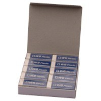 Image for White Pencil Erasers Pk20